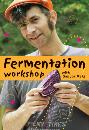 Fermentation Workshop With Sandor Katz DVD cover