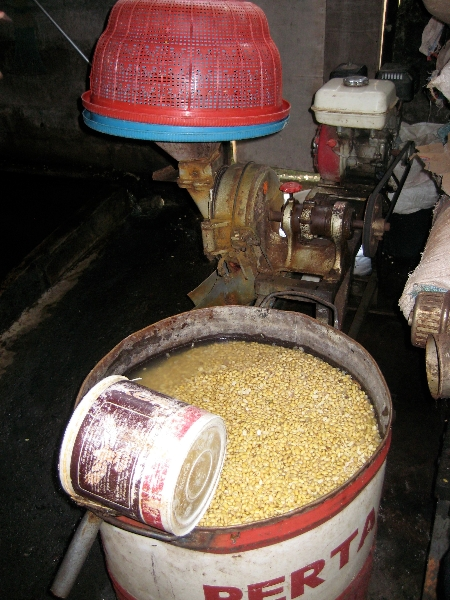Beans Soaking and Mill for Splitting Beans