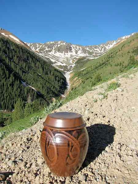 Handcrafted crock in the Korean onggi crocks by Colorado potter Adam Field (www.adamfieldpottery.com).