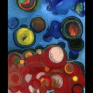 Fermenting Bubbles, painting by Dominic Padua