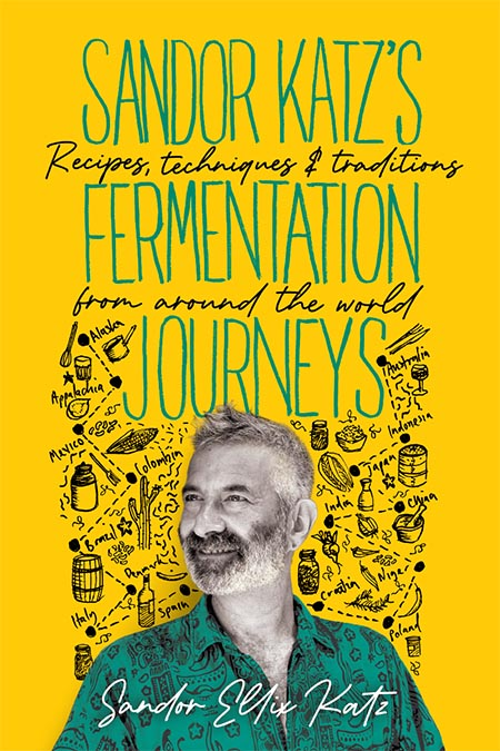 Sandor Katz's Fermentation Journeys book cover